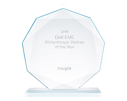 Dell EMC Philanthropic Partner of the Year award