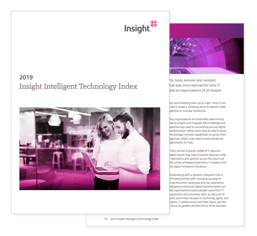 2019 Insight Intelligent Technology Index cover