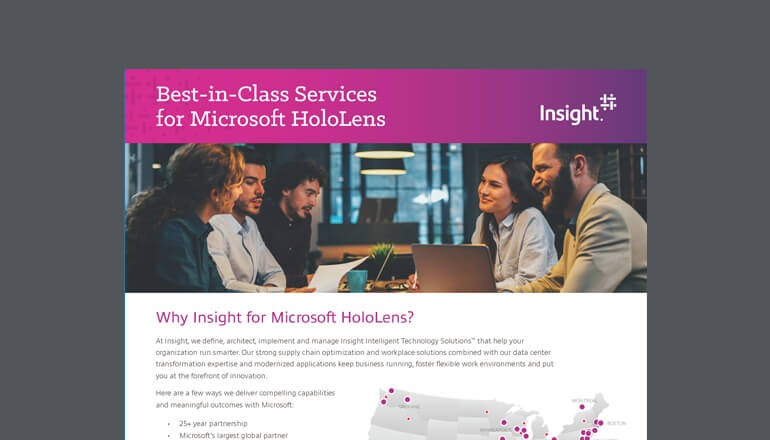 Preview of Why Insight for Microsoft HoloLens Datasheet