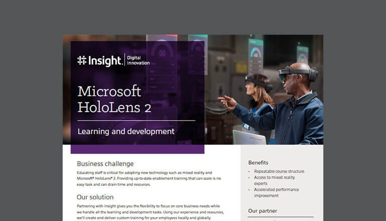 Microsoft HoloLens 2: Learning and Development thumbnail