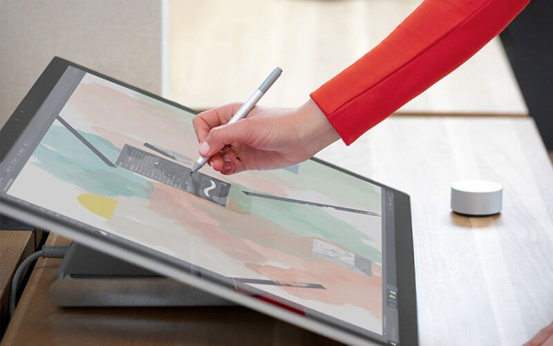 Surface Studio 2 lifestyle designer